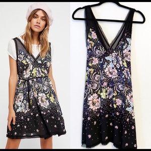 Free People Longwood Floral Slip Dress